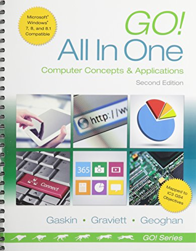 9780133933451: Go! All in One: Computer Concepts and Applications & MyLab IT with Pearson eText -- Access Card -- for GO! All In One Computer Concepts and Applications Package (2nd Edition)