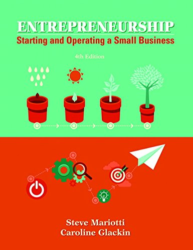9780133934458: Entrepreneurship: Starting and Operating A Small Business (4th Edition)