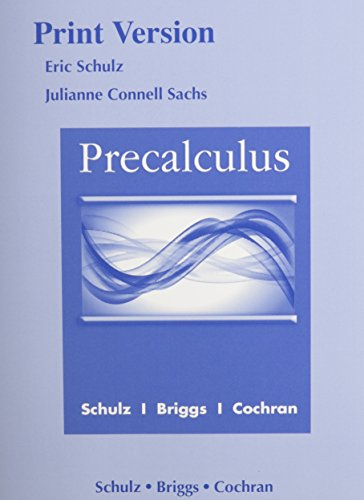 9780133936285: Precalculus (Print Reference) plus MyLab Math plus Explorations and Notes for Precalculus