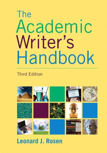9780133937886: Academic Writer's Handbook, The, Plus MyLab Writing -- Access Card Package (3rd Edition)