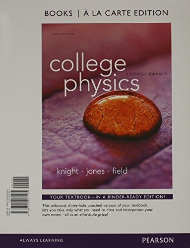 9780133940091 college physics a strategic approach books a la 9780133940091 college physics a strategic approach books a la carte edition and masteringphysics fandeluxe Images
