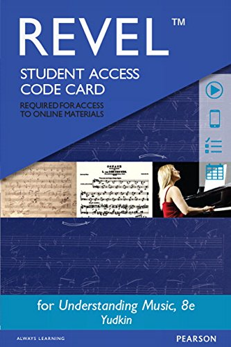 9780133940206: REVEL for Understanding Music -- Access Card (8th Edition)