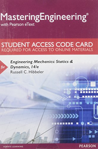 9780133941296: MasteringEngineering with Pearson eText -- Standalone Access Card -- for Engineering Mechanics: Statics & Dynamics