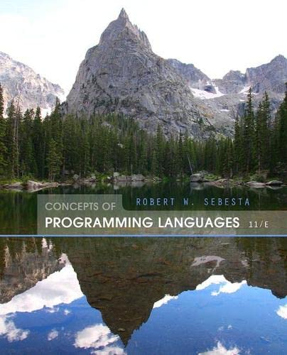 9780133943023: Concepts of Programming Languages (11th Edition)