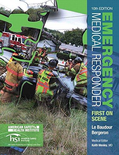 Emergency Medical Responder: First on Scene (10th: Le Baudour, Chris;