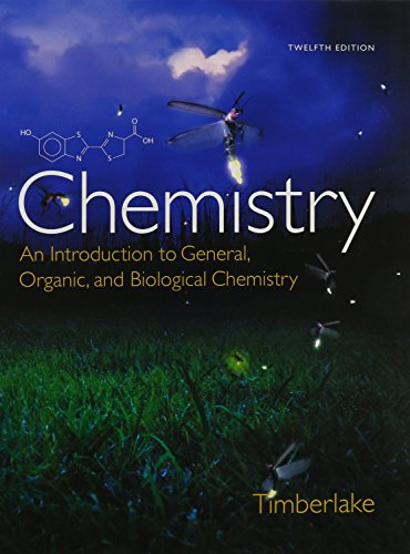 9780133946369: Chemistry: An Introduction to General, Organic, and Biological Chemistry, Study Guide and Selected Solutions Manual, MasteringChemistry with eText and Access Card (12th Edition)