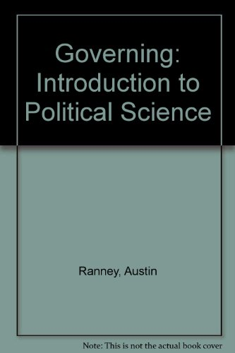 9780133947281: Governing: An Introduction to Political Science