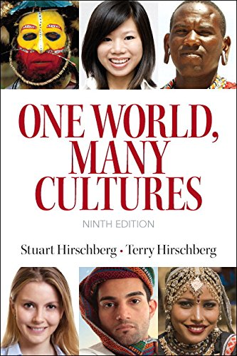 9780133947342: One World, Many Cultures Plus MyLab Writing -- Access Card Package (9th Edition)