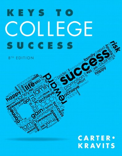 9780133947922: Keys to College Success Plus NEW MyLab Student Success Update -- Access Card Package (8th Edition) (Keys Franchise)