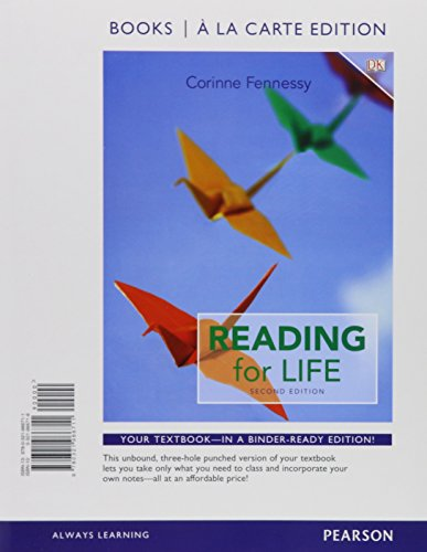 9780133949599: Reading for Life, Books a la Carte Edition Plus MyLab Reading with Pearson etext - Access Card Package (2nd Edition)
