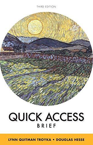 9780133953053: Quick Access Brief Plus MyWritingLab without Pearson eText -- Access Card Package (3rd Edition)