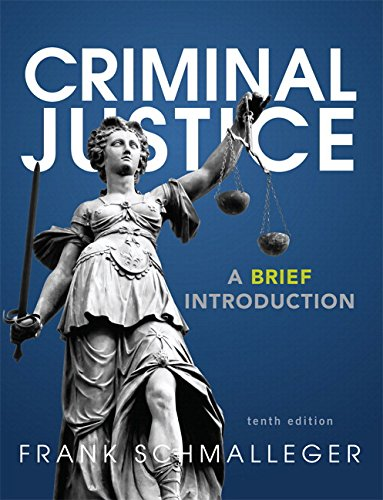 9780133953893: Criminal Justice: A Brief Introduction Plus MyLab Criminal Justice with Pearson eText -- Access Card Package (10th Edition)