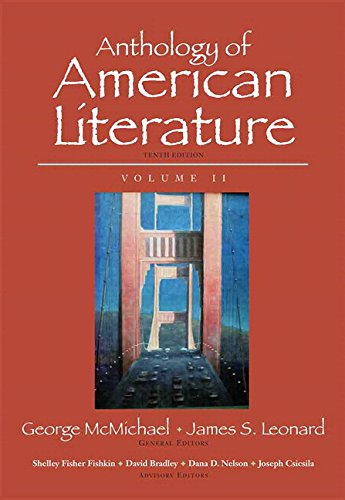 9780133957716: Anthology of American Literature, Volume II Plus MyLiteratureLab --Access Card Package (10th Edition)