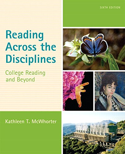 9780133957853: Reading Across the Disciplines: College Reading and Beyond Plus MyReadingLab with eText -- Access Card Package (6th Edition)