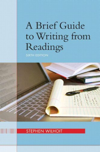 9780133958225: Brief Guide to Writing from Readings, A, Plus MyWritingLab -- Access Card Package (6th Edition)