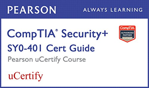 9780133961287: CompTIA Security+ SY0-401 Pearson uCertify Course Student Access Card