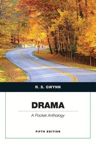 9780133961720: Drama: A Pocket Anthology (5th Edition)