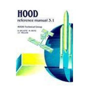 9780133962437: HOOD Reference Manual: Version 3.1 (Hood Technical Group)