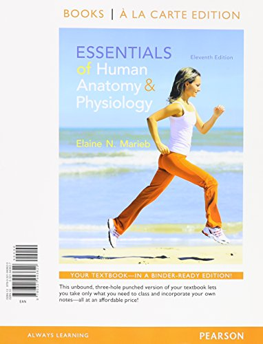 9780133964370: Essentials of Human Anatomy and Physiology + Modified Masteringa&p With Pearson Etext Access Card: Books a La Carte Edition