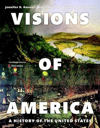 9780133966527: REVEL for Visions of America: A History of the United States, Combined Volume, -- Access Card (3rd Edition)
