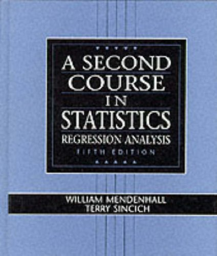 9780133968217: A Second Course in Statistics: Regression Analysis (5th Edition)