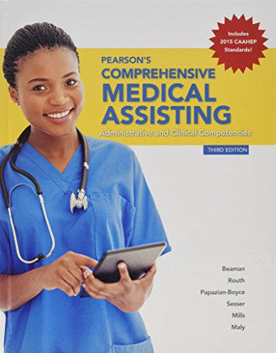 9780133969306: Pearson Comprehensive Medical Assisting and Student Workbook (3rd Edition)