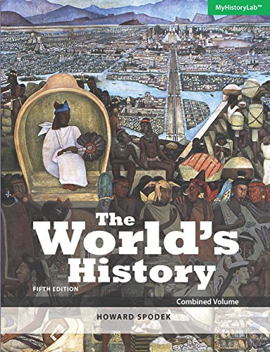 9780133969375: World's History: The, Combined Volume plus NEW MyLab History with Pearson eText -- Access Card Package (5th Edition)