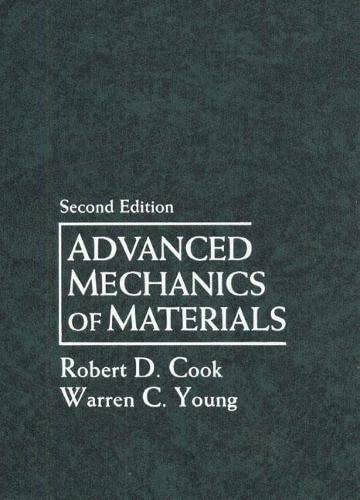 9780133969610: Advanced Mechanics of Materials (2nd Edition)