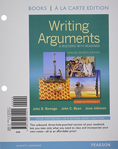 9780205171637 writing arguments a rhetoric with readings 9th 9780133970241 writing arguments a rhetoric with readings concise edition books a la fandeluxe Images