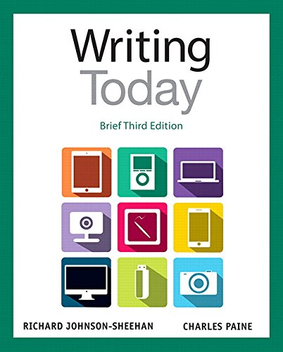 9780133970401: Writing Today, Brief Edition Plus MyWritingLab with Pearson eText -- Access Card Package (3rd Edition)
