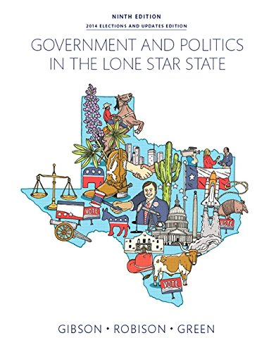 9780133970555: Government and Politics in the Lone Star State (9th Edition)
