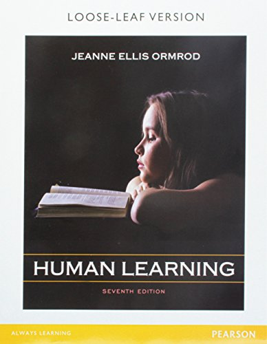 9780133972474: Human Learning, Pearson eText -- Access Card (7th Edition)