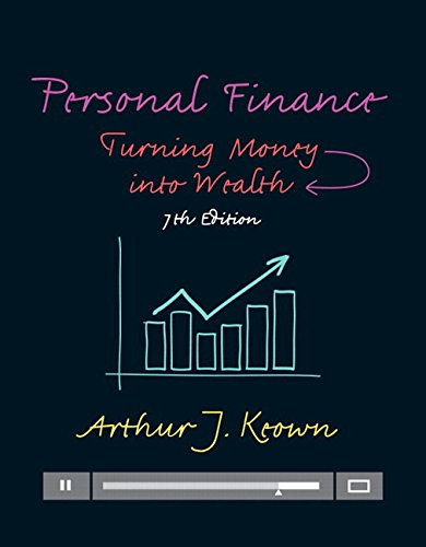 9780133973426: Personal Finance: Turning Money into Wealth (Pearson Series in Finance)