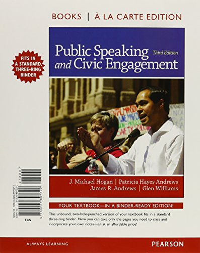 9780133973464: Public Speaking and Civic Engagement, Books A La Carte Plus NEW MyCommunicationLab -- Access Card Package (3rd Edition)