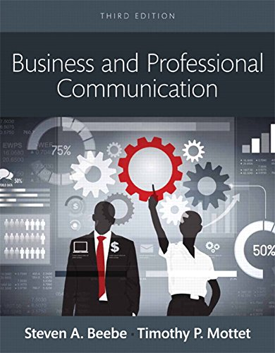 9780133973488: Business and Professional Communication, Books a la Carte (3rd Edition)