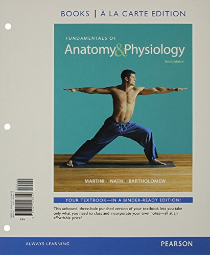 9780133974263: Fundamentals of Anatomy & Physiology, Books a la Carte Edition & Modified MasteringA&P with Pearson eText -- ValuePack Access Card -- for Fundamentals of Anatomy & Physiology Package