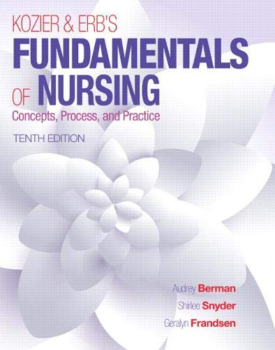 9780133974362: Kozier & Erb's Fundamentals of Nursing (Fundamentals of Nursing (Kozier))