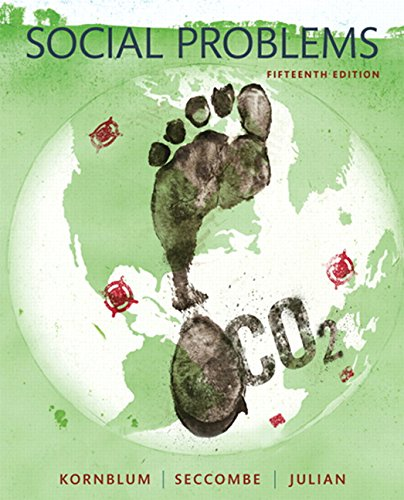 9780133974584: Social Problems (15th Edition)