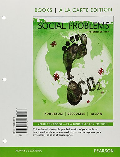 9780133974614: Books a la Carte for Social Problems (15th Edition)