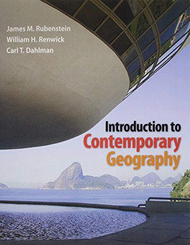 Introduction to Contemporary Geography, Modified MasteringGeography with: Rubenstein, James M.;
