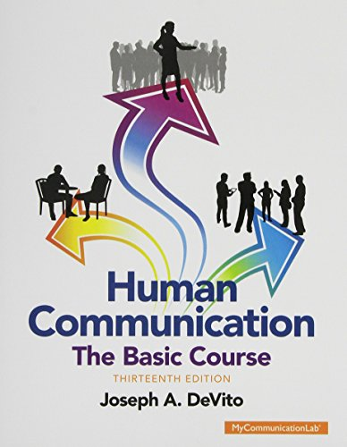 9780133975918: Human Communication: The Basic Course & NEW MyLab Communication with Pearson eText - Valuepack Access Card Package
