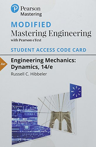 9780133976564: Modified Masteringengineering with Pearson Etext -- Standalone Access Card -- For Engineering Mechanics: Dynamics