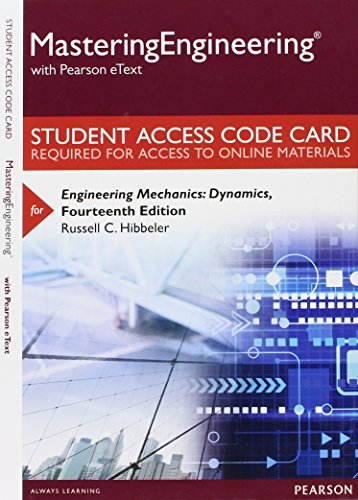 9780133976687: Mastering Engineering with Pearson eText -- Standalone Access Card -- for Engineering Mechanics: Dynamics