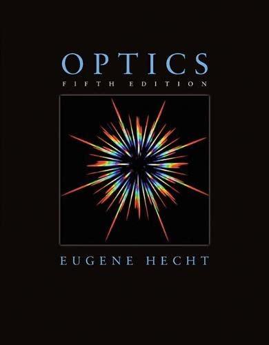 Optics (5th Edition): Eugene Hecht