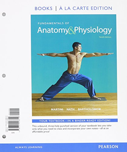 9780133977882: Fundamentals of Anatomy & Physiology, Books a la Carte Edition, Modified MasteringA&P with Pearson eText -- ValuePack Access Card, Martini's Atlas of ... 10-System Suite CD-ROM Pk. (10th Edition)