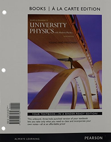 9780133977981: University Physics with Modern Physics, Books a la Carte Edition (14th Edition)