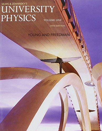 9780133978049: Sears & Zemansky's University Physics: 1