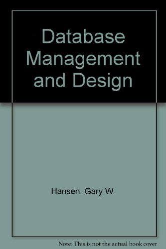 9780133980417: Database Management and Design