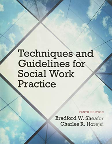 9780133980455: Techniques and Guidelines for Social Work Practice with Pearson eText Access Card Package