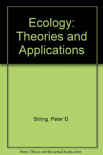 9780133980660: Ecology: Theories and Applications